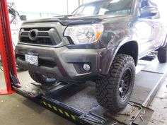 Tacoma with new Toytec Suspension kit