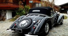 1939 Horch 853  - Horch 854 – Roadster