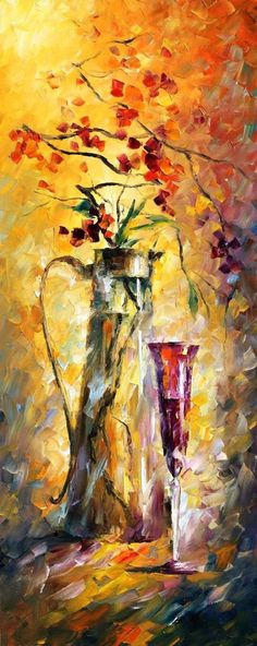 """Oriental Dreams 3"" ~ Art by Leonid Afremov"