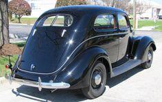 1937 Ford Tudor 'Slant-back' -- the design inspiration for Crysler's 2001 PT Cruiser