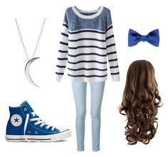 """""""casual"""" by tina-five on Polyvore featuring Frame Denim, Justin Bieber, Converse and Chicnova Fashion"""