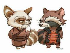 Kung fu panda/guardians of the Galaxy