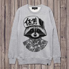 Raccoon |  Drawing |  Illustration | Textile Design | T Shirt