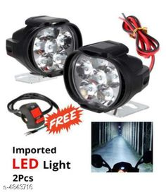 Car Accessories Portable Motorcycle Indicator Light(Set Of 2) Product Type : Indicator Light    Material : Plastic Size : Free Size Suitable : Bikes Motorcycle ATVs UTVs Scooter Lighting.Type Led Headlight Power : 10W  Description : It Has 2 Piece Of 6 Led Indicator Light With Switch Country of Origin: India Sizes Available: Free Size *Proof of Safe Delivery! Click to know on Safety Standards of Delivery Partners- https://ltl.sh/y_nZrAV3  Catalog Rating: ★3.9 (1184)  Catalog Name: Free Gift Portable Motorcycle Indicator Light CatalogID_706956 C107-SC1414 Code: 032-4843716-