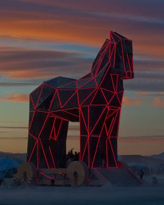 The Trojan horse of Burningman 2011. Haunts and warms me to my depths
