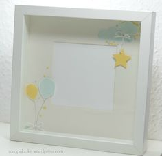 Stampin' UP! - Baby - Rahmen - Frame - Ribba - Balloon Celebration