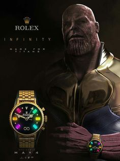 A most iconic watch that kills it at both black tie events or treks and performs anywhere from the deep sea to war zones. The Rolex Submariner Date Watch. Thanos Avengers, Avengers Film, Avengers Memes, Avengers Superheroes, Marvel Comics, Heros Comics, Marvel Heroes, Ms Marvel, Funny Marvel Memes