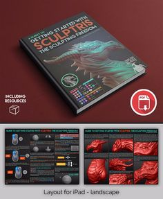 ZBrush eBook guides. Full step by step guides outlining specific features and documenting the process of various techniques in the digital sculpting world.