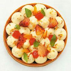 Les meilleures recettes: Tarte aux oranges rouges et basilic