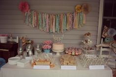 Beautiful Vintage Carnival Birthday Party for little girl