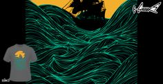 T-shirts - Design: High seas - by: Sebastian Govino