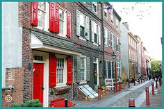 PHILADELPHIA - Elfreth Alley #lapatataingiacchetta