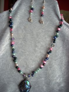 Freshwater cultured colorful abalone shell by AngiesHomeCreations, $20.00