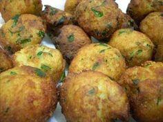 Coisas de Mulher: Bolinhos de casca de batatas