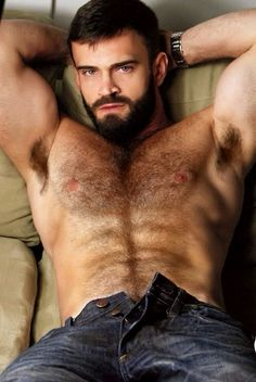 Sexy Hairy Naked Men 53
