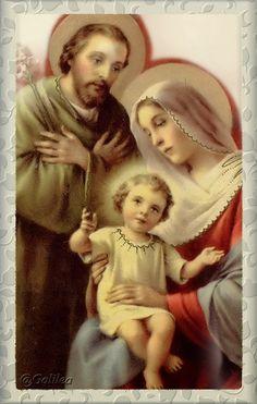 Imágenes de Galilea: Sagrada Familia