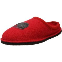 """Haflinger Women's Kitty Slipper Haflinger. $57.97. Wool. Heel measures approximately 0.5"""". Fabric sole. Breathable material. Latex arch support"""