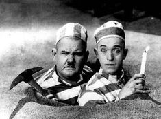 Colorized images of Stan Laurel and Oliver Hardy released before film Laurel (right) and Hardy (left) were a comedy duo act during the early Classical Hollywood. Hollywood Stars, Classic Hollywood, Old Hollywood, Lauren Hardy, Stan Laurel Oliver Hardy, Mejores Series Tv, Comedy Duos, Abbott And Costello, Classic Comedies