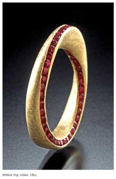 32 Best Mobius Strip Ring Images Rings Mobius Ring Wedding Bands