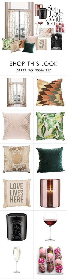 """Leisurely Love"" by nicolette-painter on Polyvore featuring interior, interiors, interior design, home, home decor, interior decorating, Anthropologie, Jaipur, Primitives By Kathy and Skogsberg & Smart"