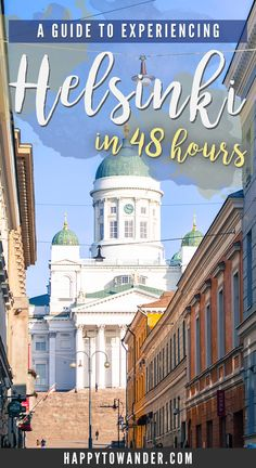 Helsinki is probably one of the most beautiful capitals in Europe. This guide is jam packed with inspiration for a quick two day stop in this Finnish capital, with plenty of activities and suggestions that will make trip planning a breeze! Cool Places To Visit, Places To Travel, Travel Destinations, Holiday Destinations, Romantic Vacations, Romantic Travel, Dream Vacations, European Destination, European Travel