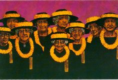 Ladies of the Ka'ahumanu Society American by MagicDogCollectibles, $10.00