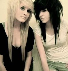 Cool emo hair for the near future...