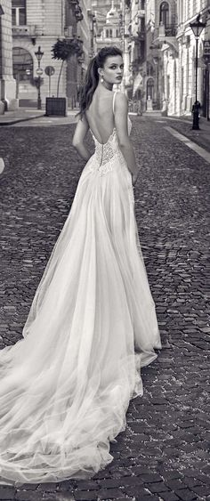 Dramatic Galia Lahav wedding dresses