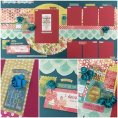 Authentique Utopia Best site ever for page layout kits! www.scrapbookstation.com