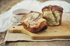 This isn't just a vegan cinnamon roll—it's brioche! Vegan brioche people!