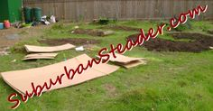 Kill mulch is a great first step to getting your garden area prepped. Find out the easy way to get it done here! http://www.suburbansteader.com/kill-mulch