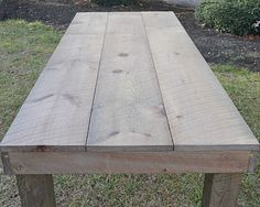 2 simple steps to turn new wood into weathered looking wood.