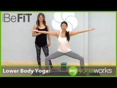 Lower Body Yoga Workout   MyYogaWorks- Alex Crow
