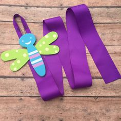Hair Bow Holder - Hair Clip Holder - Bow Holder - Ribbon holder -  Barrette Holder - Bow organizer - Nursery decor - Organize - Dragonfly