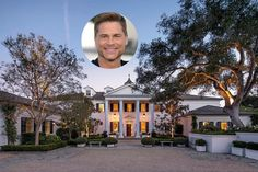 Rob Lowe Montecito House is simply gorgeous inside and out. You will love seeing his classic Georgian home! Stunningly Beautiful, Beautiful Homes, Rob Lowe, Georgian Style Homes, Celebrity Houses, Beautiful Celebrities, Lowes, Real Estate, Mansions