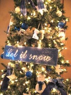 Image result for navy gold christmas tree