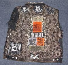 punk vest  #fashion