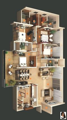 House Plans Mansion, Sims House Plans, House Layout Plans, Family House Plans, Dream House Plans, Small House Plans, House Layouts, House Floor Plans, Home Plans