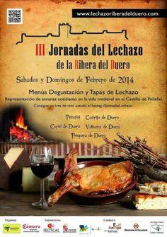 Jornadas del Lechazo en la Ribera del Duero, con menús por 32 euros - http://www.conmuchagula.com/2014/02/24/jornadas-del-lechazo-en-la-ribera-del-duero-con-menus-por-32-euros/