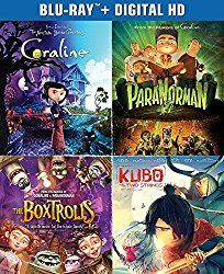 The Ultimate Laika Collection (Kubo and the Two Strings / The Boxtrolls / ParaNorman / Coraline) (Blu-ray  Digital HD)