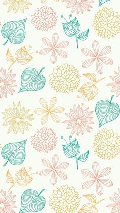 Floral pattern wall paper cute simple pattern wallpaper wallpapers in wallpaper wallpaper wallpaper backgrounds floral design Cute Wallpaper Backgrounds, Pretty Wallpapers, Flower Backgrounds, Screen Wallpaper, Iphone Wallpaper, Wallpaper Wallpapers, Floral Wallpapers, Lines Wallpaper, Phone Backgrounds