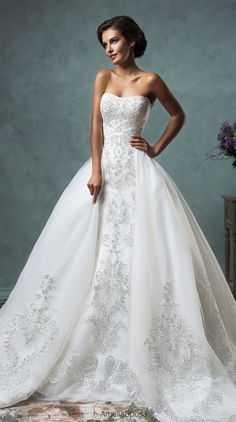 ballgown wedding dress, from Amelia Spose