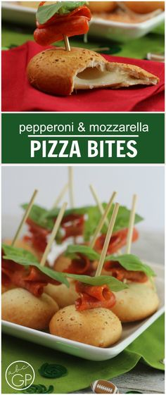 Pepperoni Pizza Skewers are fun to eat and easy to make!