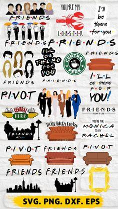Friends Funny Moments, Friends Series, Friends Tv Show, Chandler Friends, Birthday Woman, Friend Birthday, 30th Birthday Ideas For Women, Friends Clipart, Friends Poster