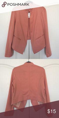 Asos Blazer NWT Salmonish colored blazer. No closure. ASOS Jackets & Coats Blazers