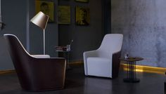 The 21st Century Salon: Foster 520 Armchair by Walter Knoll
