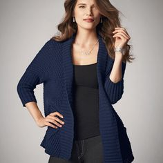 You will love this product from Avon:  Chunky Sweater Wrap