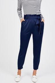 High Waisted Paperbag Pant by Octavia - Rent Clothes with Le Tote Rent Clothes, Le Tote, Paperbag Pants, Basic Outfits, Fashion Inspiration, Harem Pants, Dress Up, Turtle Neck, Sweatpants