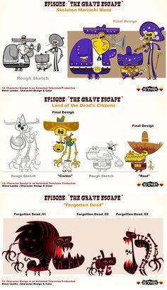 Os magníficos Cartoons de Steve Lambe | THECAB - The Concept Art Blog