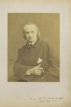 Charles Baudelaire Photographie de Charles Neyt
